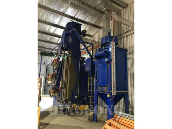 hanger type shot blasting machine 4